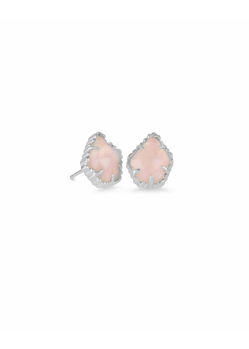 Kendra Scott Tessa Earring Rhod Rose Quartz