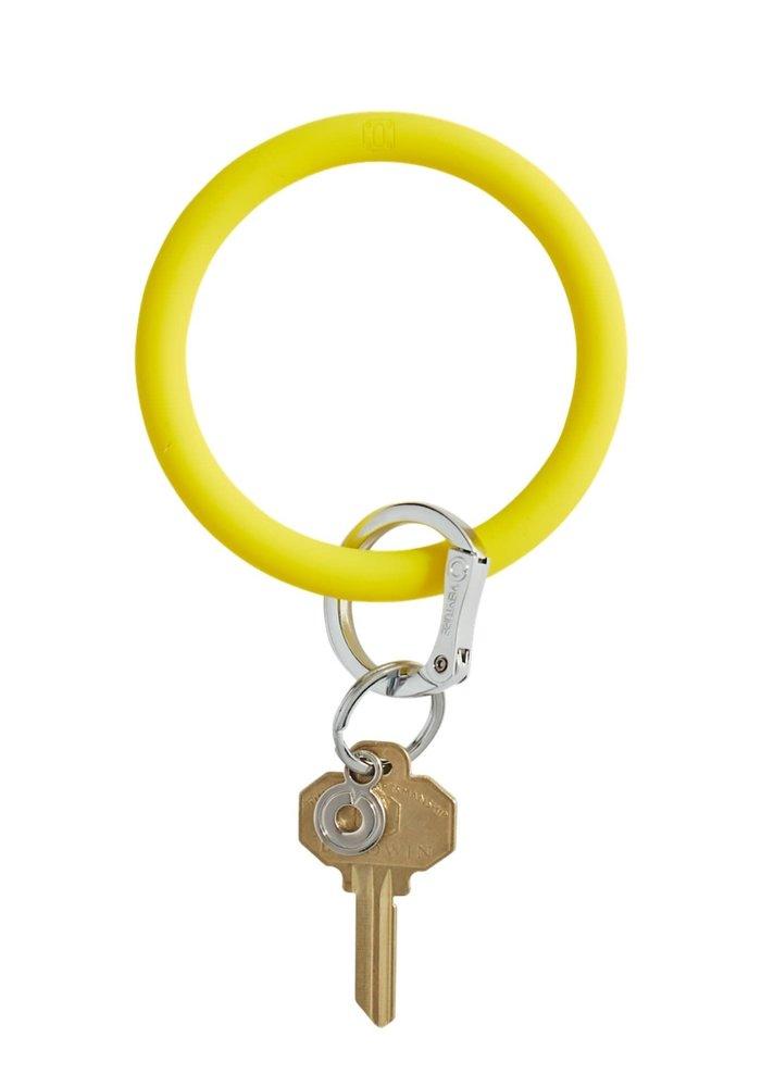 Yes Yellow Silicone Big O Ring