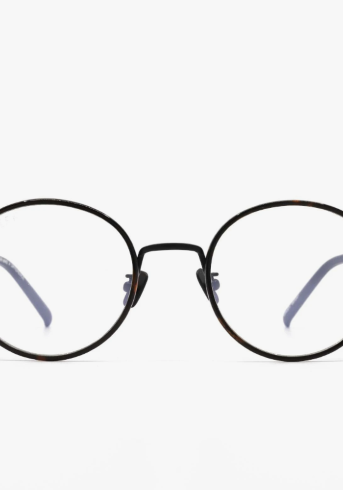 DIFF Daisy Blue Light Glasses Matte Black