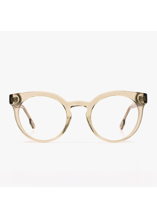 DIFF Eyewear DIFF Selena Blue Light  Blocking Glasses Olive Crystal
