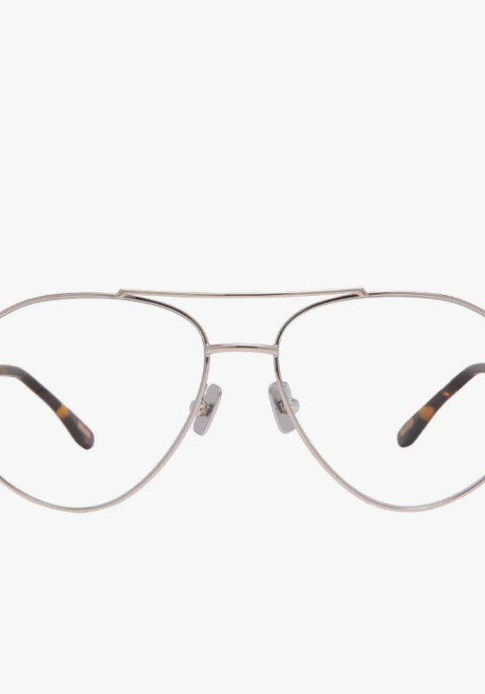 DIFF Scout Blue Light Blocking Glasses Silver