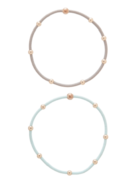 "Enewton ""e""ssentials Bracelet Stack Signature (Mint/Grey)"