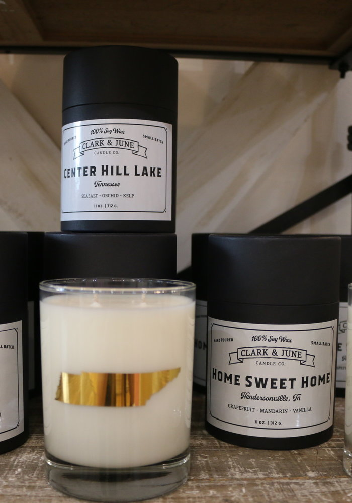 Center Hill Lake Reusable Candle
