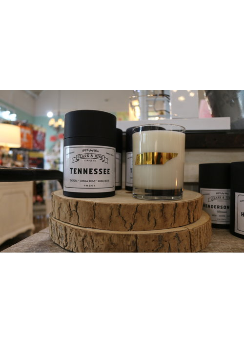 Clark & June Candle Co. Tennessee Reusable Candle