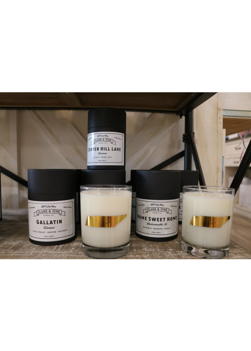 Clark & June Candle Co. Home Sweet Home Hendersonville  Reusable Candle