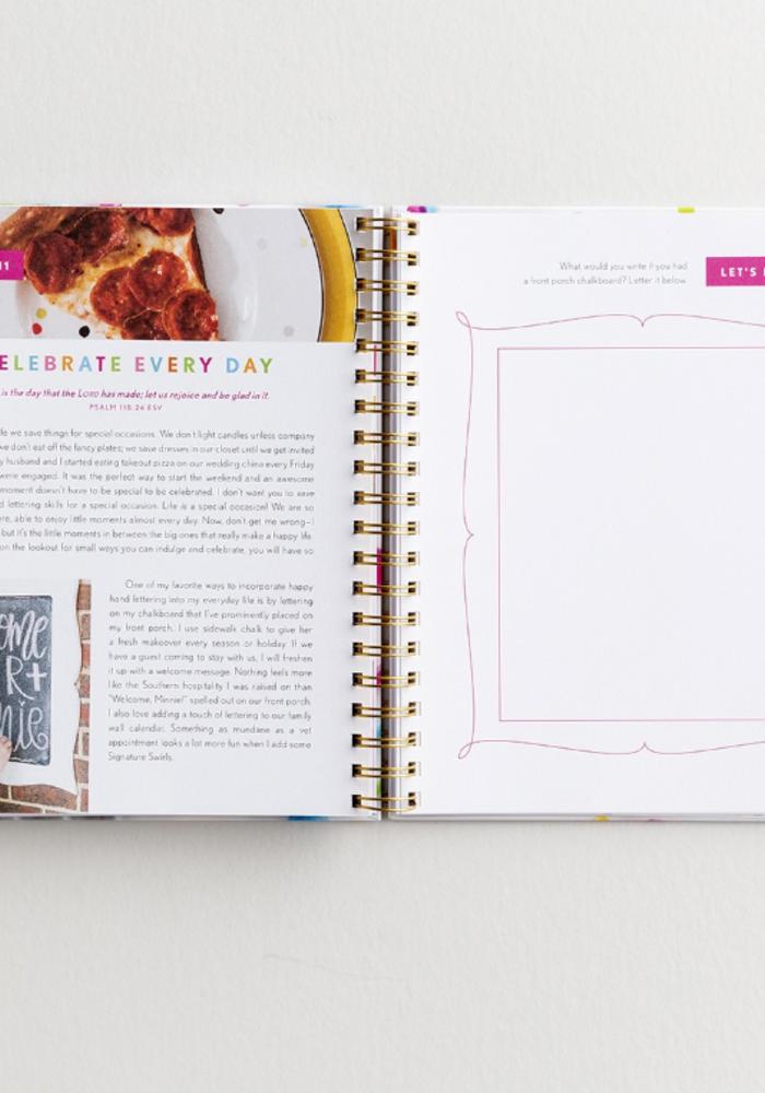 Happy Hand Lettering Guidebook