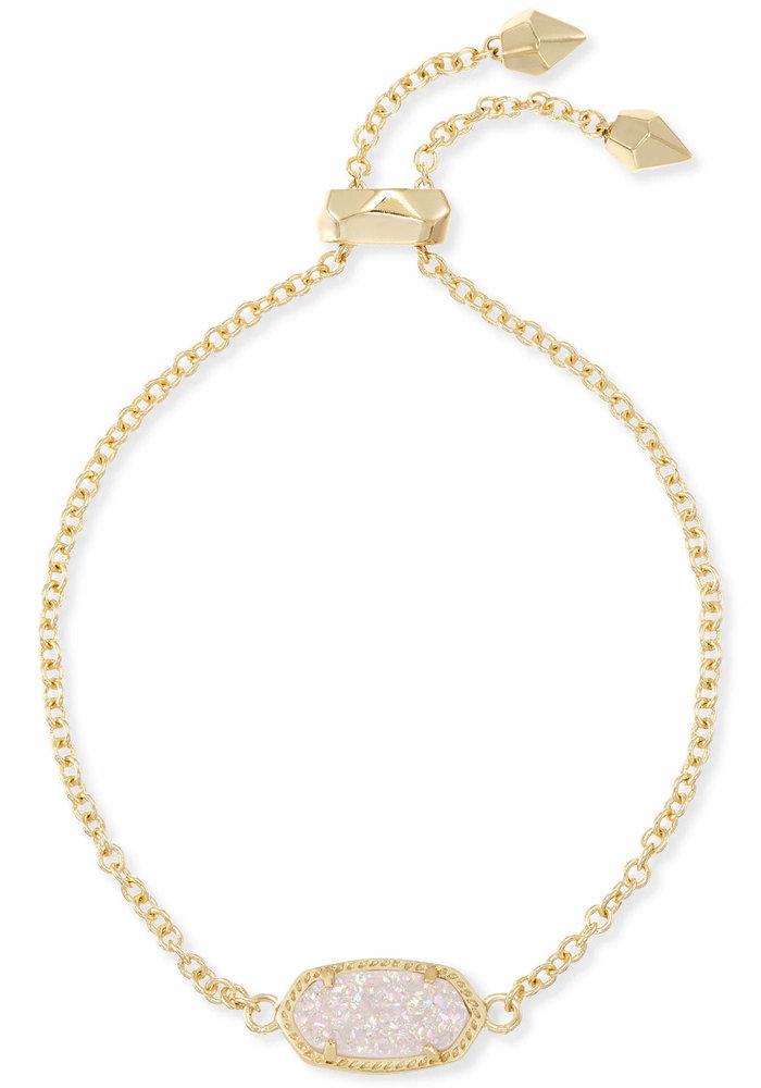 Elaina Bracelet Gold Metal Iridescent Drusy