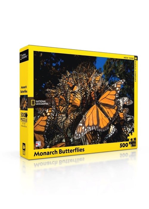 National Geographic Monarch Butterflies 500-pc. Puzzle