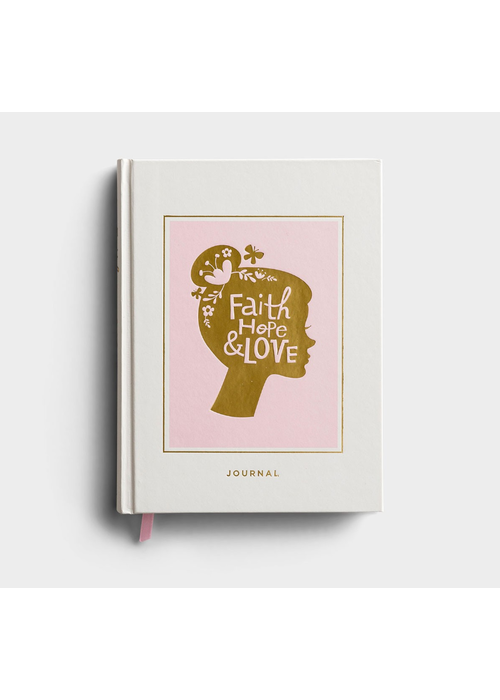"""Faith, Hope, & Love"" Silhouette Journal"