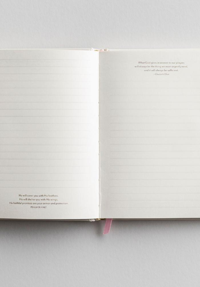 """""""Faith, Hope, & Love"""" Silhouette Journal"""