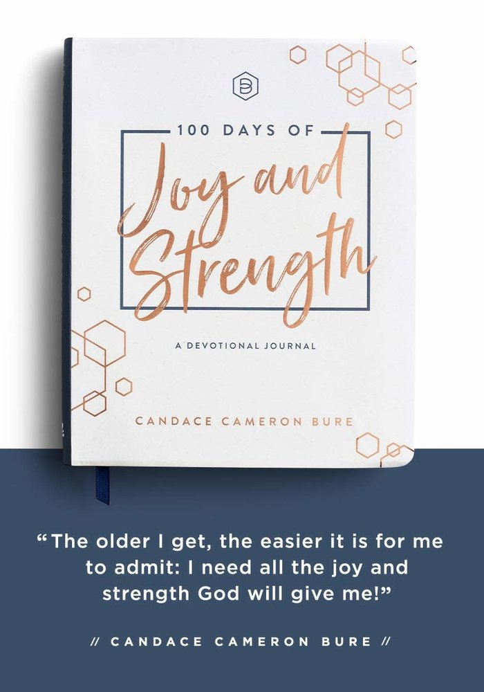 100 Days of Joy and Strength Devotional Journal