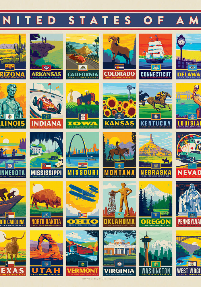 American States Puzzle