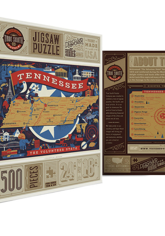 Tennessee Volunteer State Puzzle