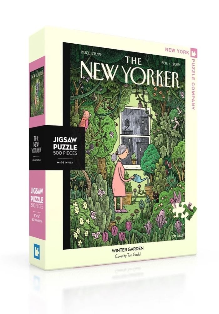 New Yorker Winter Garden 500-pc. Puzzle