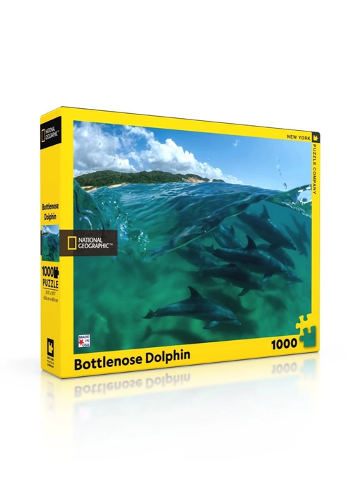 National Geographic Bottlenose Dolphins 1000-pc. Puzzle