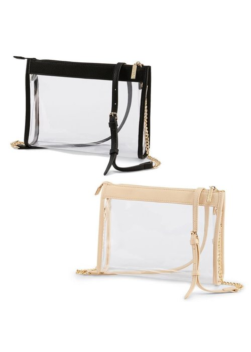 Mudpie Clear Crossbody Bag