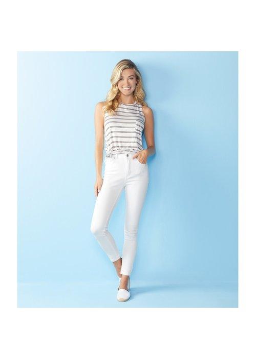 Mudpie White Darcy Jeans