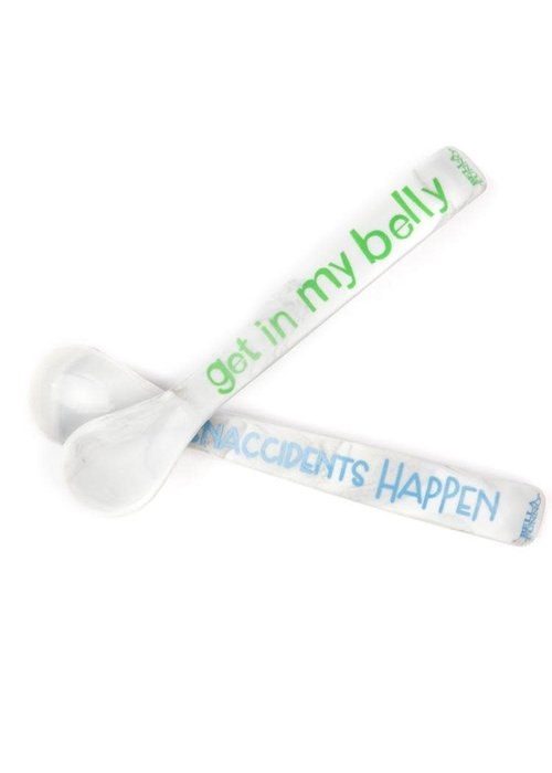 Bella Tunno Get In My Belly/Snaccidents Happen Wonder Spoon Set