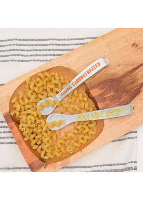 Bella Tunno Holy Macaroni/Staying Carbohydrated Wonder Spoon Set