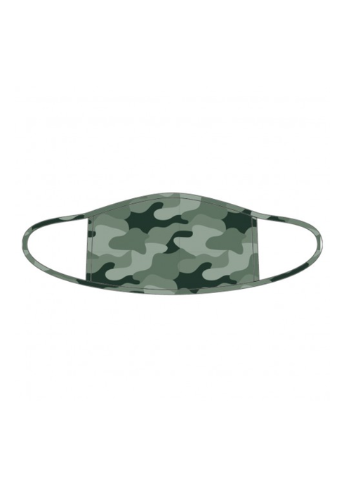 Camo Adult Filter Pocket Face Mask