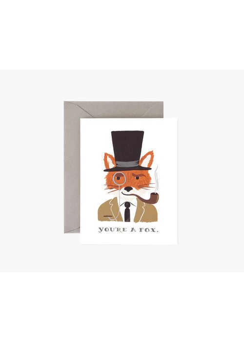Rifle Paper You're a Fox Card