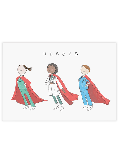 Healthcare Heroes Postcard