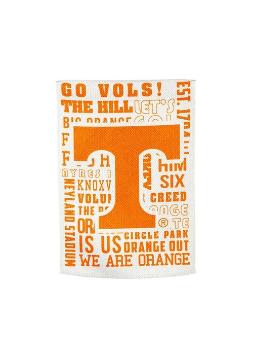 University of Tennessee Fan Rules Garden Flag