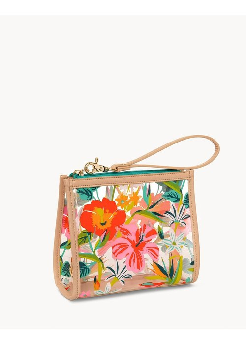 Spartina 449 Moreland Clear Beach Wristlet