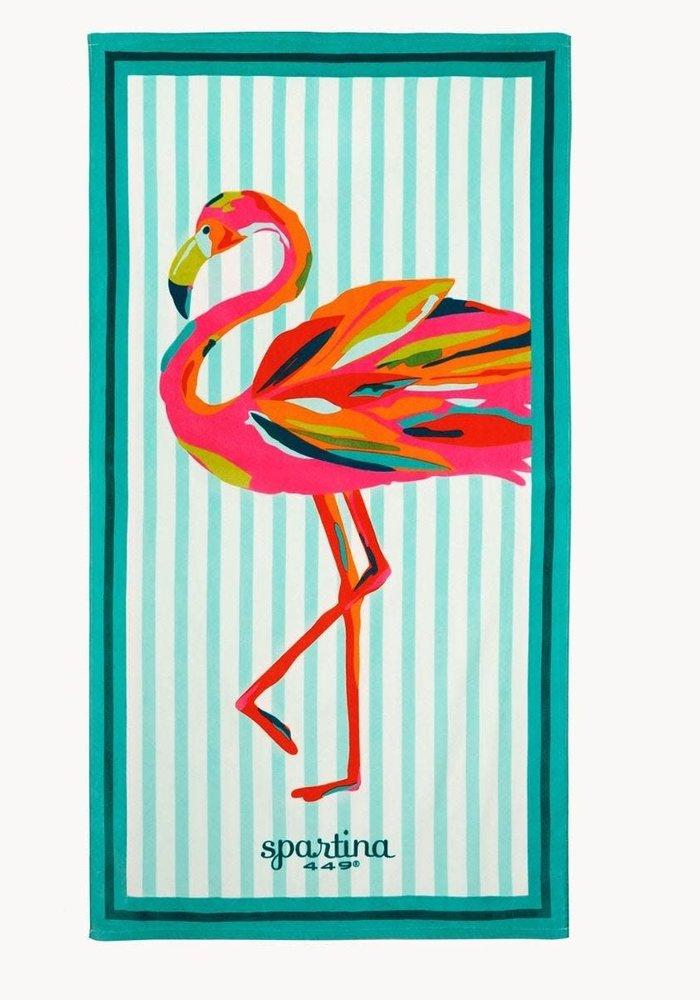 Moreland Flamingo Oversized Beach Towel
