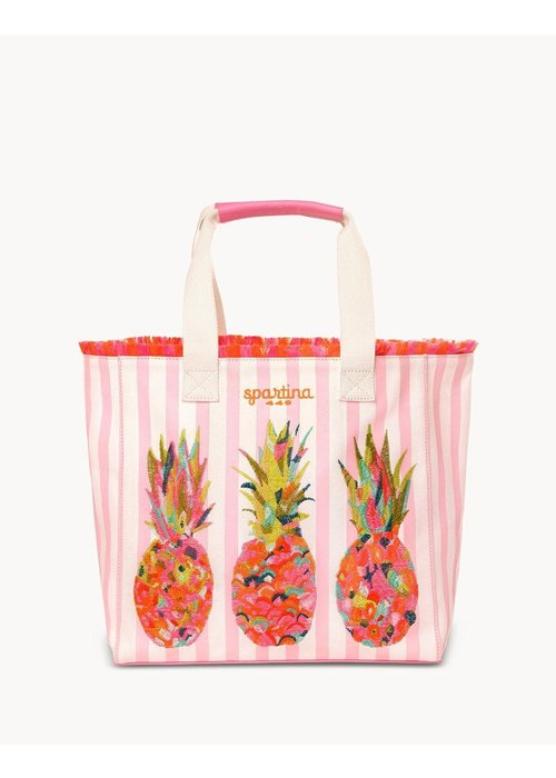 Spartina 449 Moreland Pineapple Beach Tote