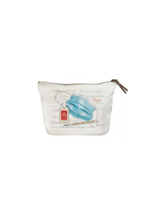 """Hope"" Pandemic Essentials Canvas Pouch"