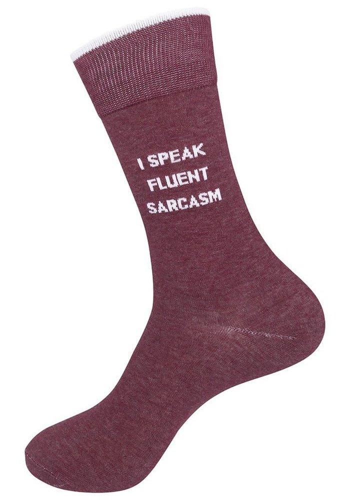 """""""I Speak Fluent Sarcasm"""" Socks"""