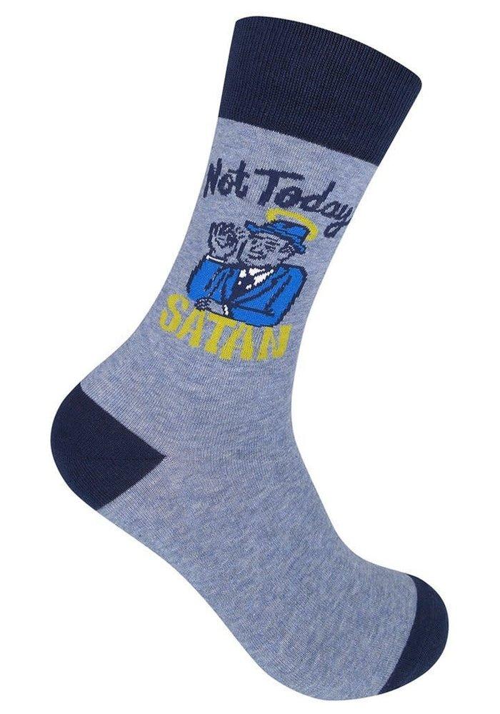 """Not Today Satan"" Socks"
