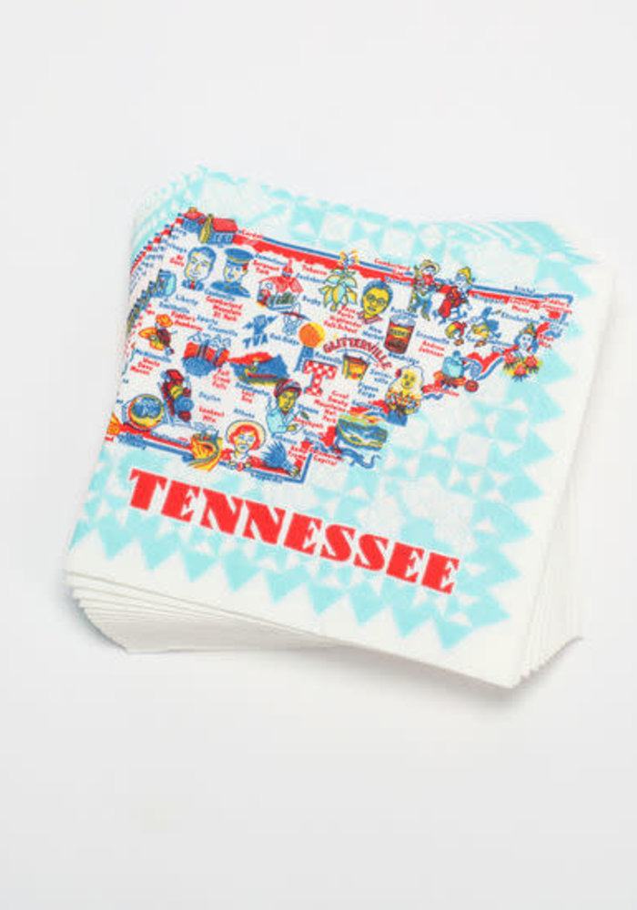 Tennessee Napkins 20-Pack