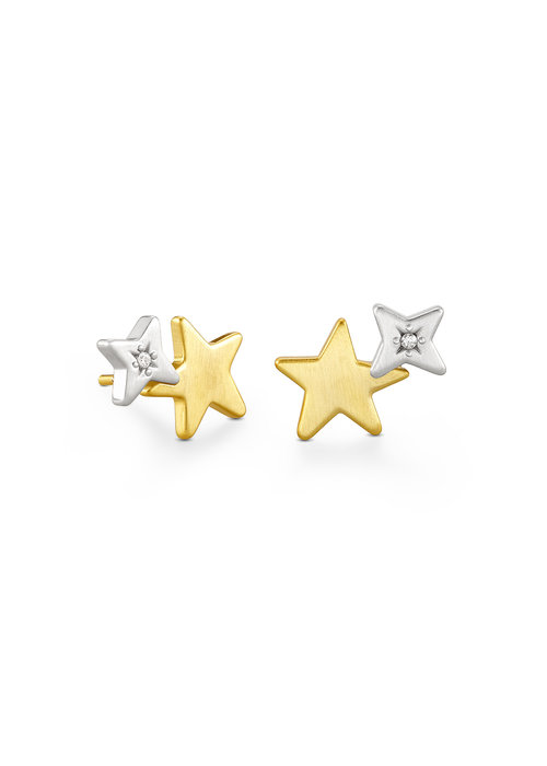 Kendra Scott Jae Star Two-Tone Ear Climber