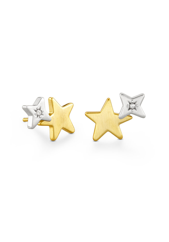Jae Star Two-Tone Ear Climber