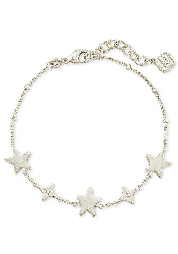 Jae Star Delicate Bracelet Silver Metal