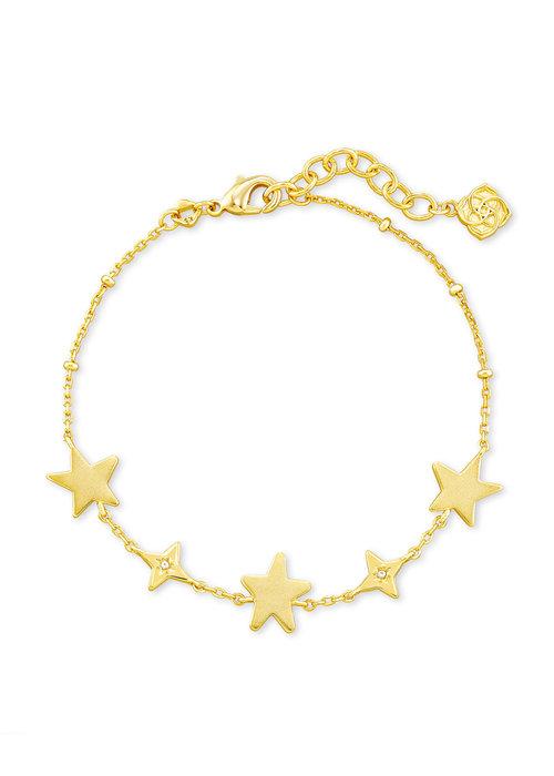 Kendra Scott Jae Star Delicate Bracelet Gold Metal