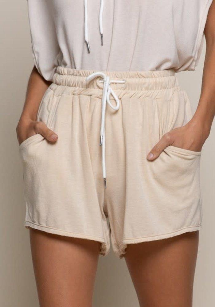 Super Soft Drawstring Shorts