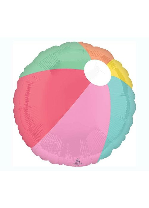 "Just Chillin' Beach Ball 17"" Balloon"