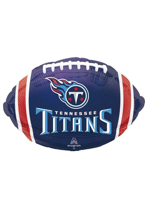 "Titans Football 17"" Balloon"