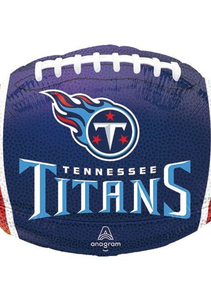 """Titans Football 17"""" Balloon"""