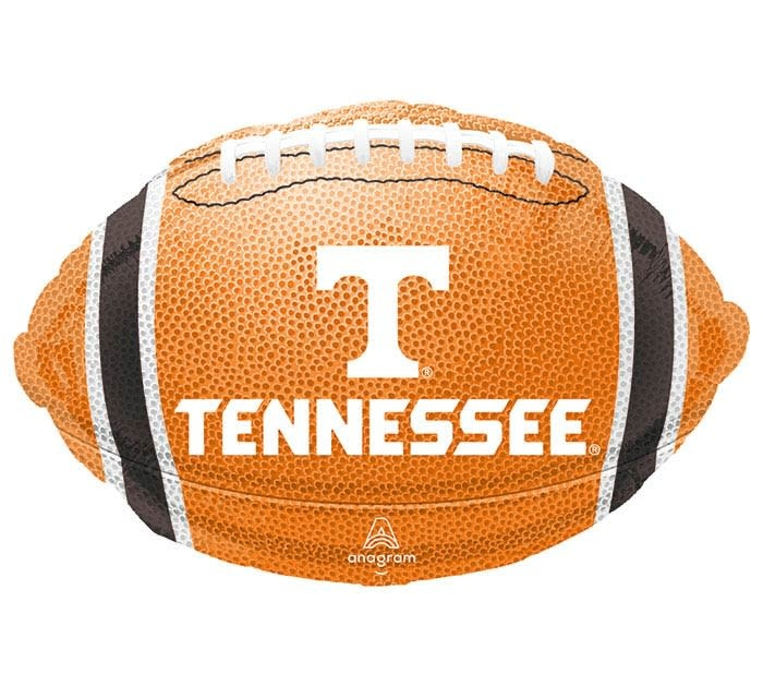 Choose Your Selections University of Tennesee Collegiate Football Themed Birthday Party Balloons