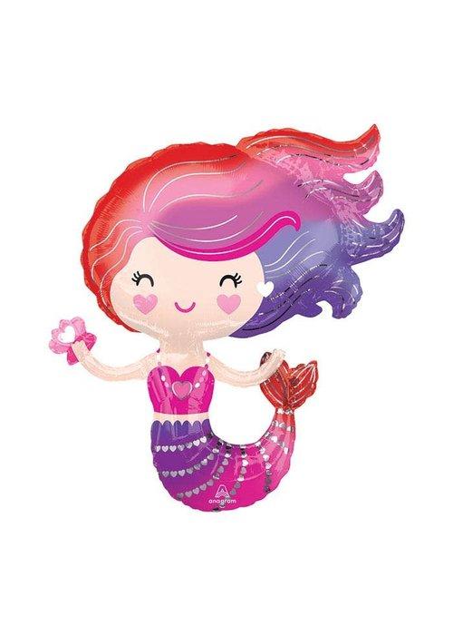 """Mermaid Friend 30"""" Balloon"""