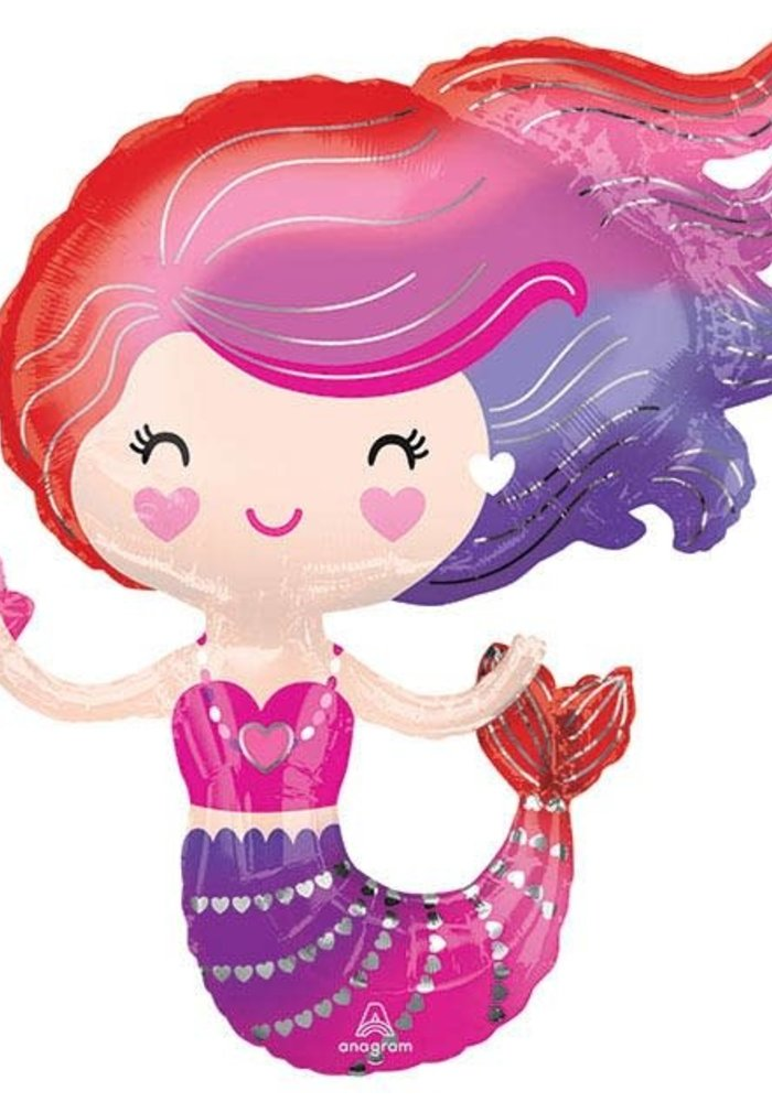 "Mermaid Friend 30"" Balloon"