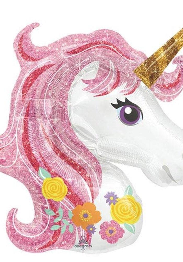 "Magical Unicorn 33"" Balloon"