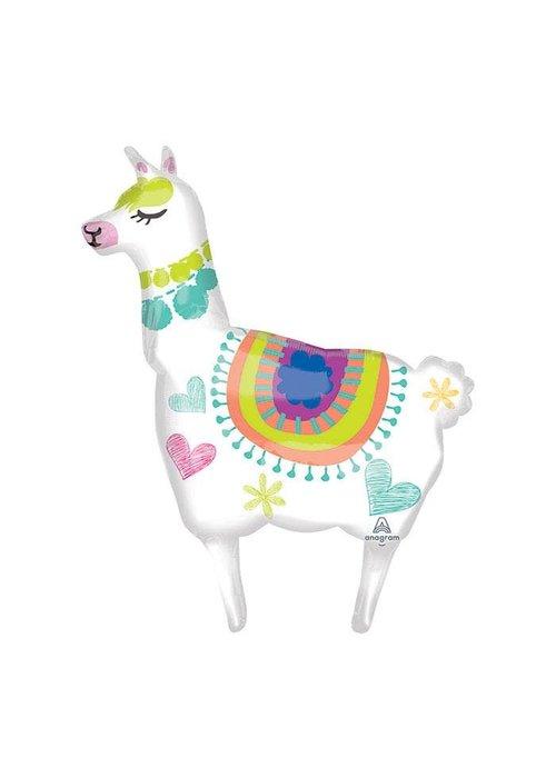 """Fun Llama 41"""" Foil Balloon"""