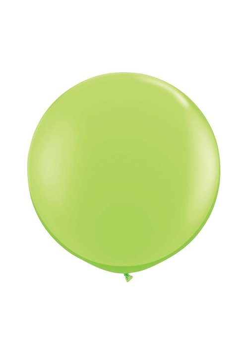 "Lime Green 36"" Oversized Latex Balloon"