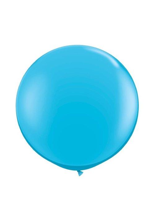 """Robin's Egg Blue 36"""" Oversized Latex Balloon"""