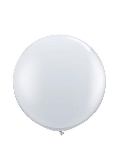 """Diamond Clear 36"""" Oversized Latex Balloon"""